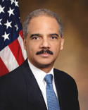 Official Photograph of Eric H. Holder, Jr.