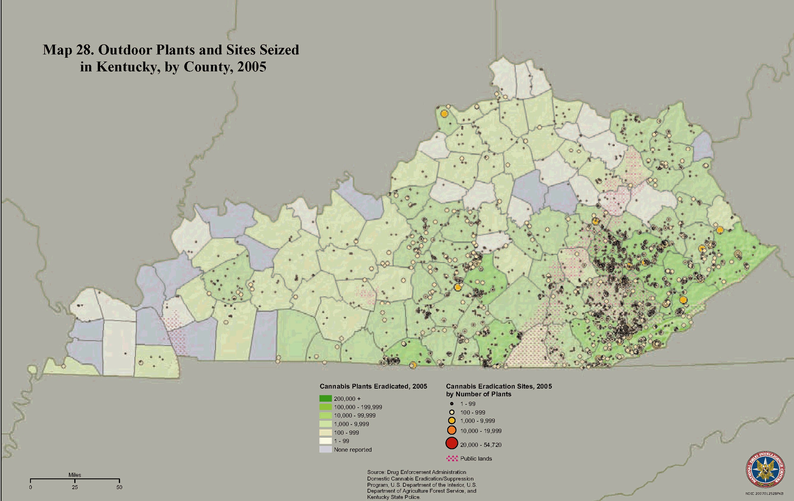 Appendix B Maps Domestic Cannabis Cultivation Assessment 2007