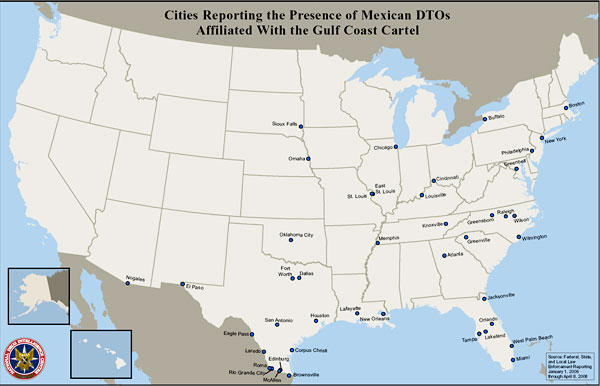 U Appendix A Maps Situation Report Cities in Which Mexican