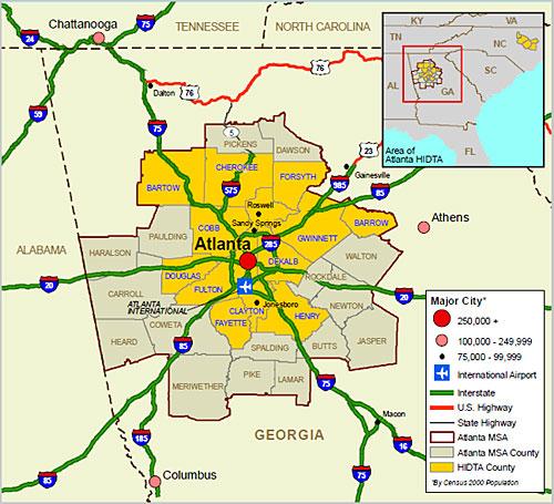 Opinions On Atlanta Metropolitan Area
