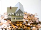 House on pennies: Link to Home Prices and Commissions over Time