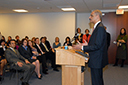 Attorney General Eric Holder speaks to the Antitrust Division.