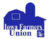 Iowa Farmers Union logo.