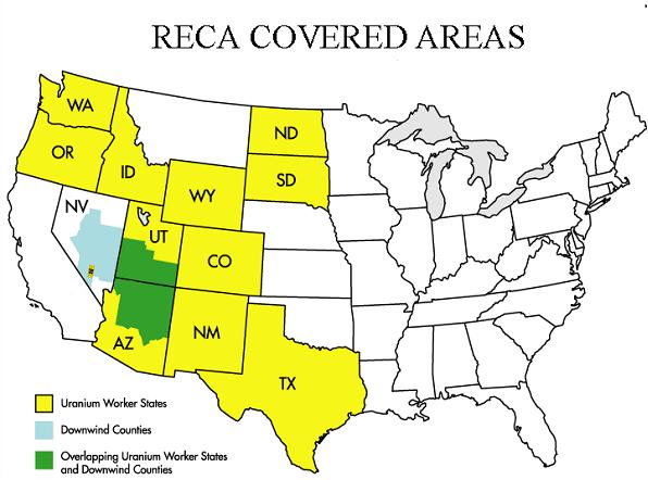 RECA Covered Areas