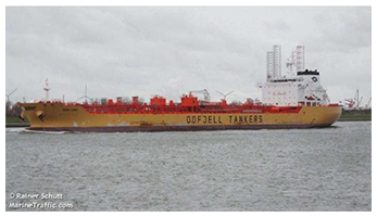 M/T Bow Lind petroleum/chemical tanker