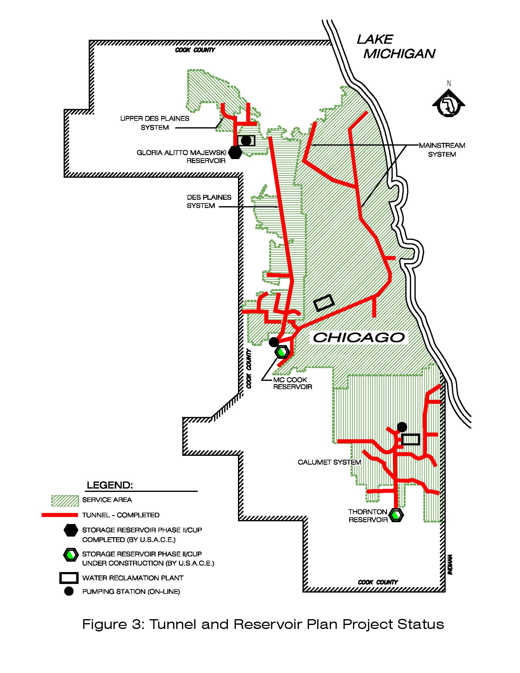 US V Metropolitan Water Reclamation District Of Greater Chicago - Chicago flooding map