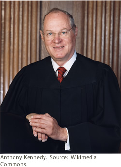 United States Supreme Court Justice Anthony Kennedy
