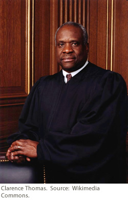 United States Supreme Court Justice Clarence Thomas