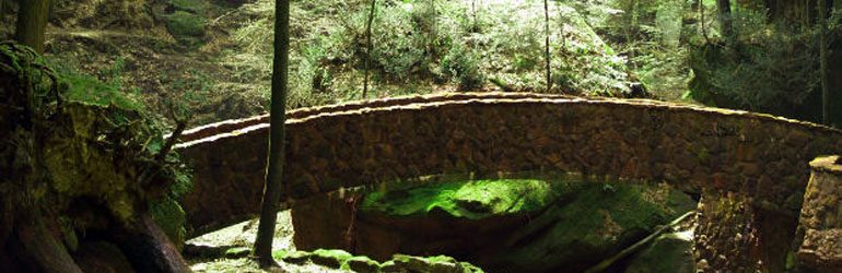 Hocking Hills, OH in the spring.