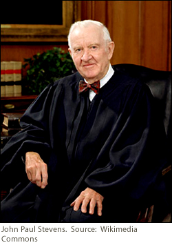 United States Supreme Court Justice John Paul Stevens