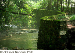 Rock Creek National Park. Courtesy of the Department of Interior.