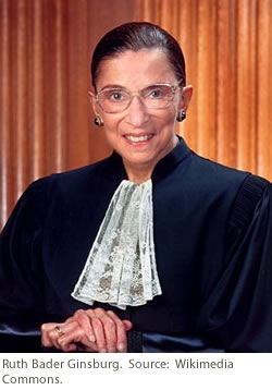 United States Supreme Court Justice Ruth Bader Ginsburg