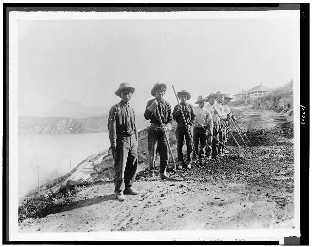 Apache Laborers on the Salt River, Source: Library of Congress
