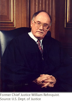 United States Supreme Court Justice William Rehnquist