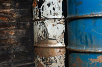 Hazardous Waste Drums.  Courtesy of EPA.