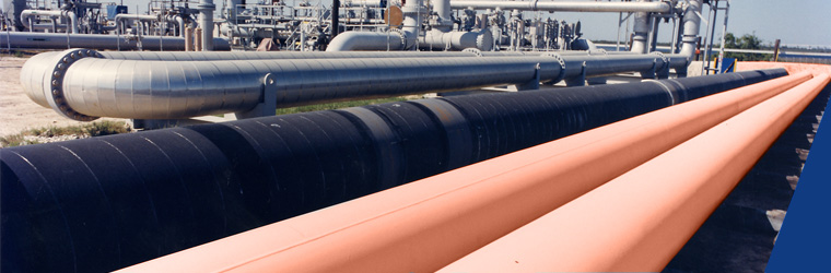 Crude oil pipes at SPR Bryan Mound site near Freeport, TX. Courtesy of DOE.