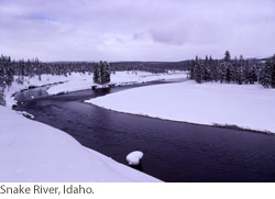 Snake River, Idaho. Courtesy of NPS.