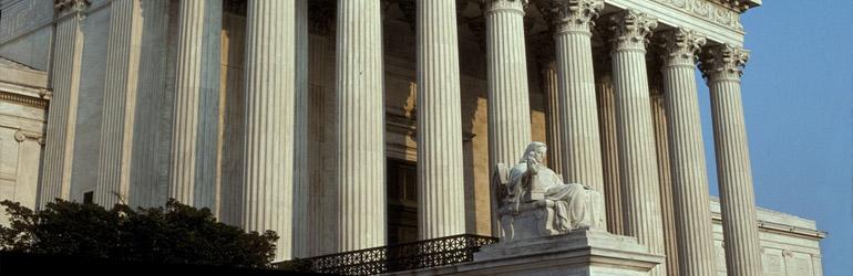 U. S. Supreme Court Buildng in Washington DC.  Courtesy of BLM.
