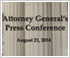 Link to the video of Attorney General Eric Holder's Statement on Developments in Ferguson, MO
