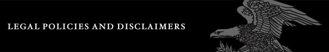 Legal Policies and Disclaimers
