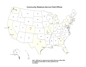 Community Relations Services Field Offices