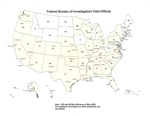 Federal Bureau of Investigation Field Offices