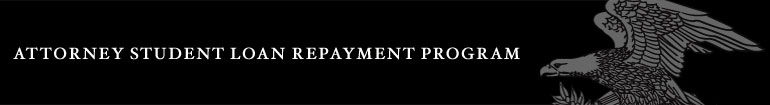 Attorney Student Loan Repayment Program