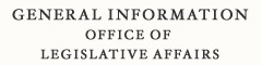 General Information Office of Legislative Affairs