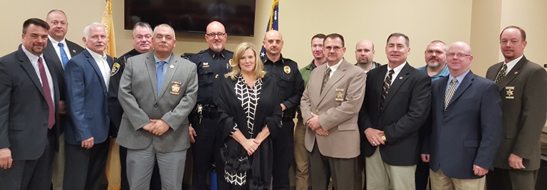 USA Rose meets with local law enforcement in Western North Carolina