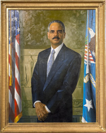 Official Portrait of Eric H. Holder, Jr.