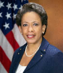 Official photograph of Loretta E. Lynch