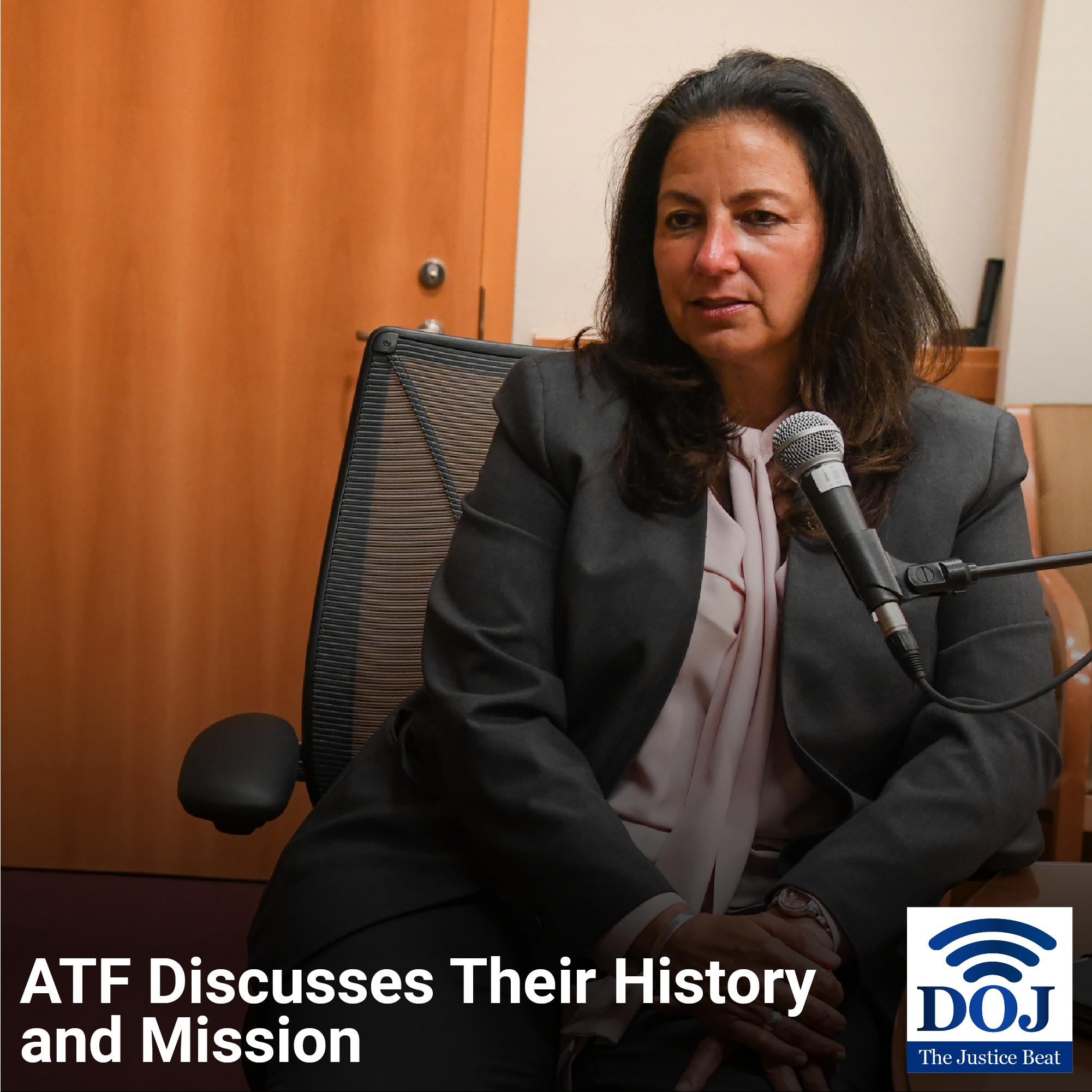 Acting Director for ATF Regina Lombardo