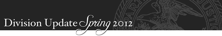 Division Update Spring 2012