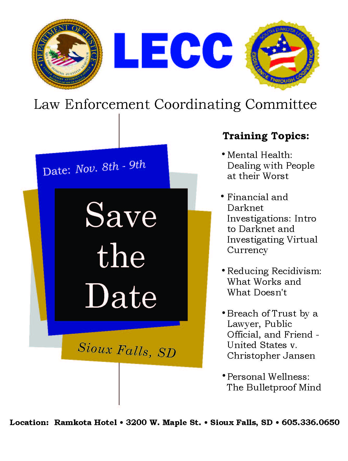 SAVE THE DATE LECC