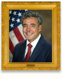 Portrait of Noel John Francisco, the 48th Solicitor General