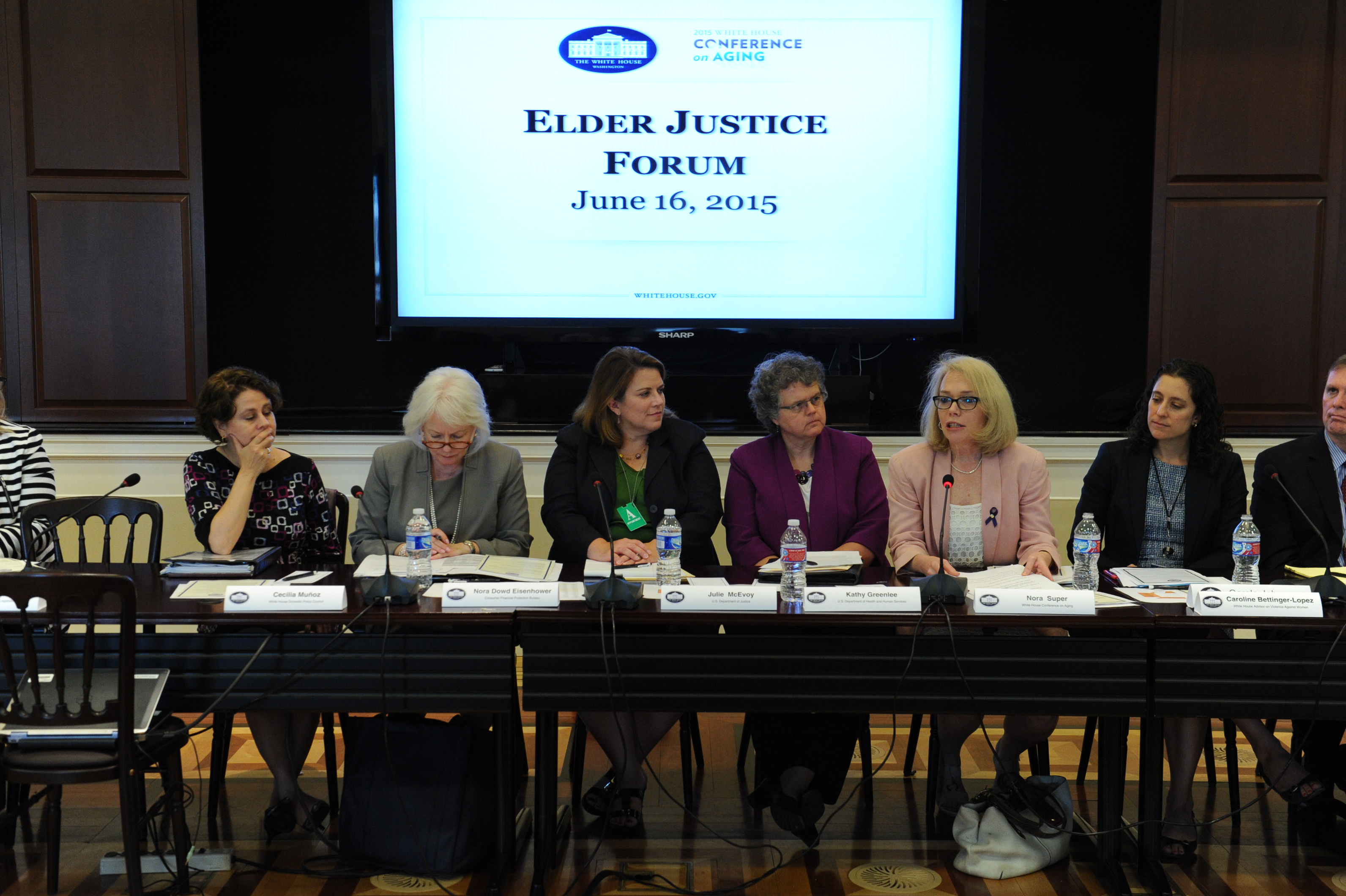 Panel for the Elder Justice Forum at the White House