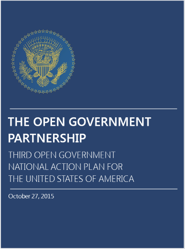 Third Open Government National Action Plan Cover
