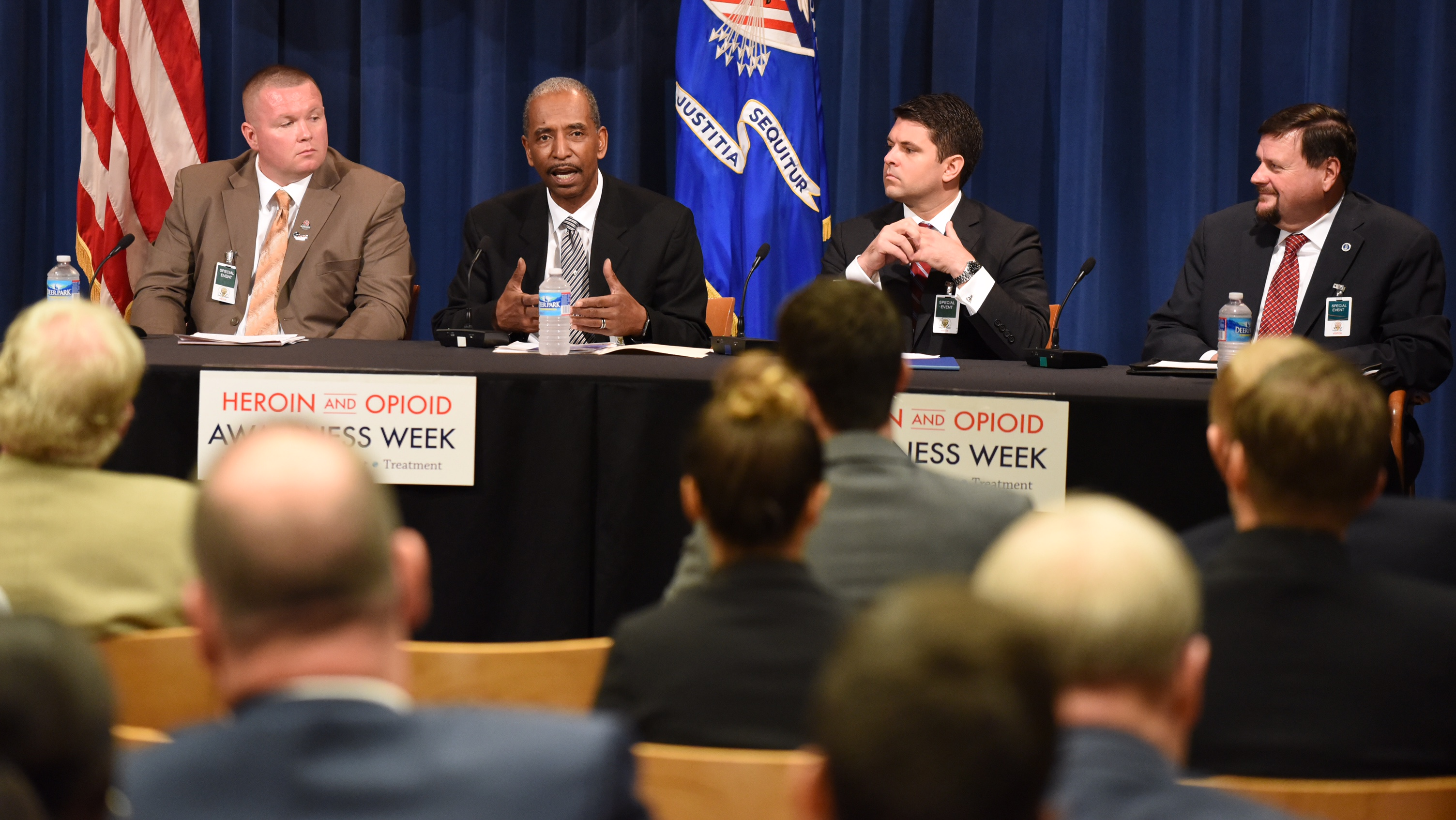 Roundtable at DOJ Opioid Awareness Week Event
