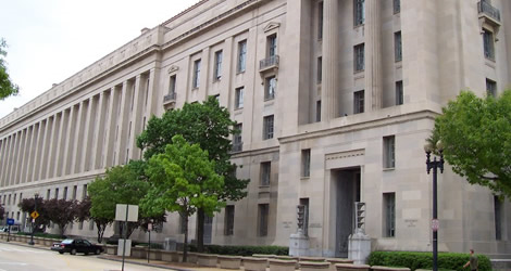 Department of Justice Main Building