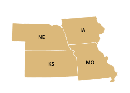 Central Regional Office Map