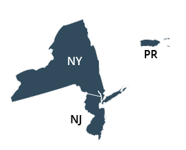 Northeastern Regional Office Map