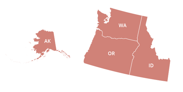 Northwestern Regional Office Map