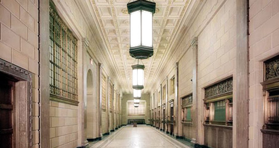Hallway from the Department of Justice