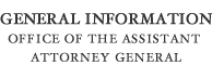 General Information Office of the Assistant Attorney General