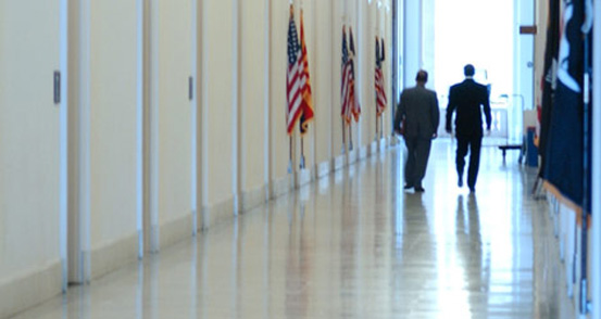 Hallway at the Department of Justice