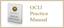 OCIJ Practice Manual