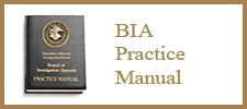 BIA Practice Manual