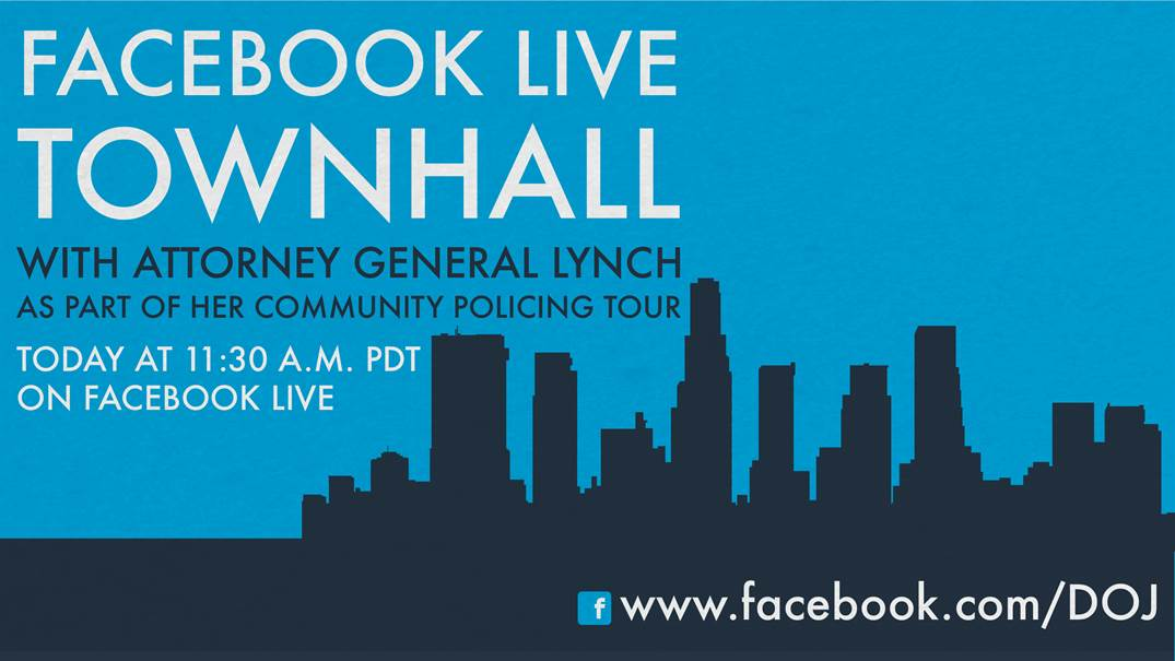 Attorney General Lynch Town Hall