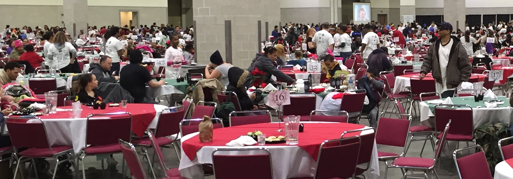 Feed 1000 provided warm meals, clothing and health services to 2,000 individuals in need
