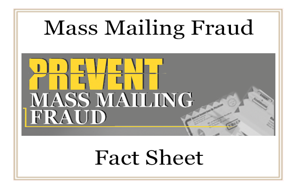 Learn More About Mass Mail Fraud Prevention